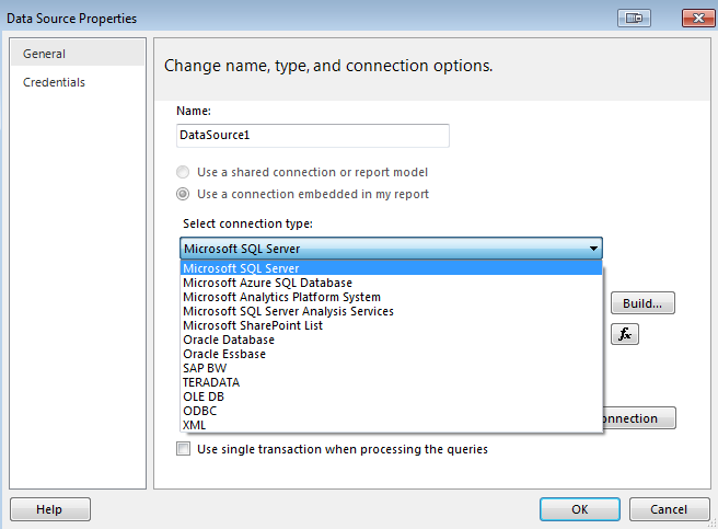 SQL Server Reporting Services Tutorial 1 - Introduction