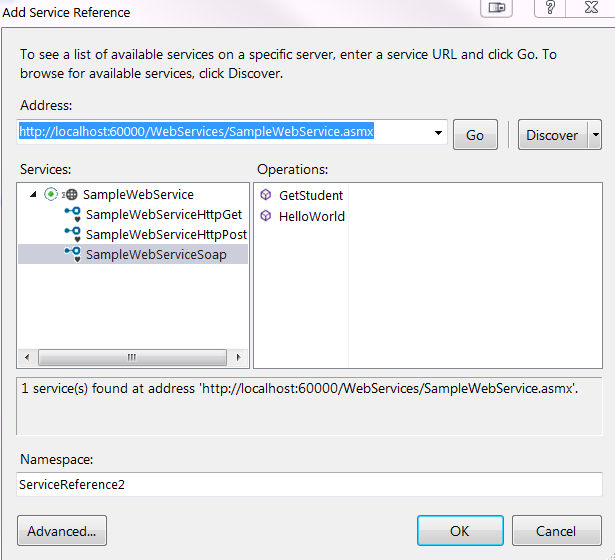 ASP NET SOAP ASMX Web Services Tutorial - Andy Blog   Andy的博客